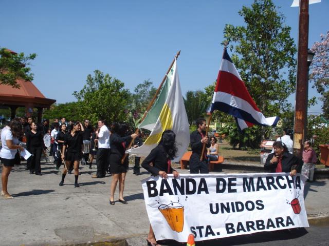 Banda de Marcha Cantonal Unidos Santa Bárbara