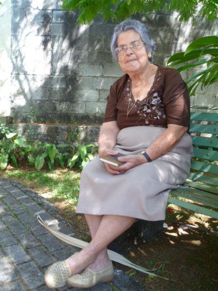 Doña Virgita González Peñaranda nativa de San Pedro de Santa Bárbara