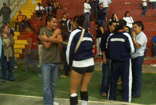 Final de voleibol femenino Santa Bárbara vs Abangares
