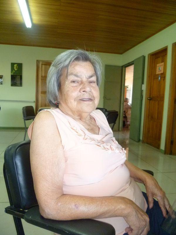 Doña Emérita Murillo del centro de Santa Bárbara