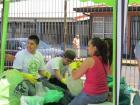 """Campaña """"Barbareñ@s Reciclando"""" en julio 2012"""